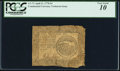 Colonial Notes, Continental Currency April 11, 1778 $4 PCGS Very Good 10.. ...