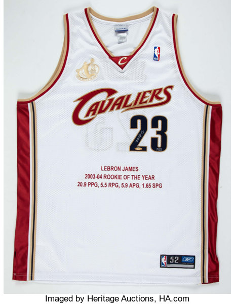 d7a23b55a LeBron James Signed UDA Stat Jersey 37 123. ... Autographs Jerseys ...