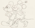 Animation Art:Production Drawing, The Pet Store Mickey and Minnie Mouse Animation Drawing (Walt Disney, 1933). ...