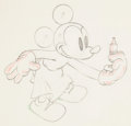 Animation Art:Production Drawing, As the Worm Turns Mickey Mouse Animation Drawing (WaltDisney, 1937). ...