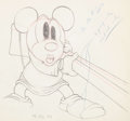 Animation Art:Production Drawing, Mickey's Parrot Mickey Mouse Animation Drawing (Walt Disney,1938). ...