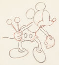 Animation Art:Production Drawing, The Whoopee Party Mickey Mouse Animation Drawing (Walt Disney, 1932). ...