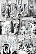 Original Comic Art:Panel Pages, John Romita Sr. and Tony Mortellaro Amazing Spider-Man #109Story Page 10 Doctor Strange Original Art (Marvel, 197...