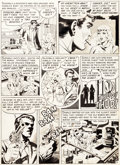 Original Comic Art:Panel Pages, Wally Wood Tales From the Crypt Story Page 6 Original Art(EC, 1951)....