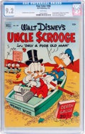 Golden Age (1938-1955):Cartoon Character, Four Color #386 Uncle Scrooge (Dell, 1952) CGC NM- 9.2 White pages....