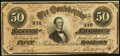 Confederate Notes:1864 Issues, T66 $50 1864 PF-8 Cr. 499 . ...