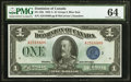 Canadian Currency, Canada Dominion of Canada $1 Series A 1923 DC-25h.. ...