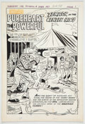 Original Comic Art:Panel Pages, Bill Vigoda, Bob White, and Others Archie as Pureheart thePowerful #3 Two Complete Stories Original Art and Produ...(Total: 50 Items)