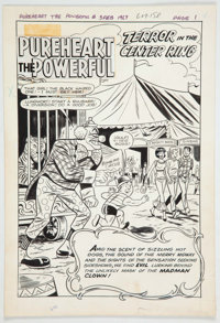 Bill Vigoda, Bob White, and Others Archie as Pureheart the Powerful #3 Two Complete Stories Original Art and Produ... (T...
