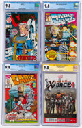 Modern Age (1980-Present):Superhero, Cable Related CGC-Graded Group of 4 (Marvel, 1993-2013) CGC NM/MT 9.8 White pages.... (Total: 4 Comic Books)