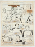 Original Comic Art:Comic Strip Art, William E. Hill Among Us Mortals/The Hill Page SundayComic Strip Original Art dated 4-17-49 (News Syn...