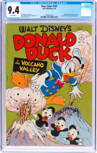 Four Color #147 Donald Duck (Dell, 1947) CGC NM 9.4 White pages
