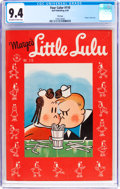 Golden Age (1938-1955):Cartoon Character, Four Color #110 Little Lulu - File Copy (Dell, 1946) CGC NM 9.4 Off-white to white pages....
