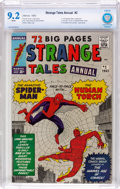 Silver Age (1956-1969):Superhero, Strange Tales Annual #2 (Marvel, 1963) CBCS NM- 9.2 White pages....