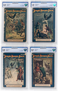 Spring-Heeled Jack #1-10 CBCS-Graded Group (Aldine Publishing, 1904).... (Total: 10 Items)