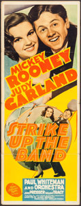 "Movie Posters:Musical, Strike Up the Band (MGM, 1940). Insert (14"" X 36""). Musical.. ..."
