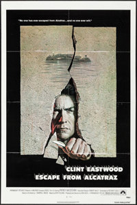 """Escape from Alcatraz & Others Lot (Paramount, 1979). One Sheets (3) (27"""" X 41"""") Birney Lettick Artwork. Th..."""