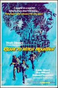 """Movie Posters:Fantasy, Escape to Witch Mountain & Others Lot (Buena Vista, 1975). OneSheets (4) (27"""" X 41""""). Fantasy.. ... (Total: 4 Items)"""
