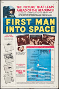 "Movie Posters:Science Fiction, First Man into Space (MGM, 1959). One Sheet (27"" X 41""). ScienceFiction.. ..."