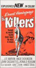 """Movie Posters:Crime, The Killers (Universal, 1964). Three Sheet (41"""" X 78.5""""). Crime....."""