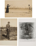 Western Expansion:Cowboy, Annie Oakley: Real Photo Postcard Signed by Her and More....
