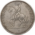"""Political:Tokens & Medals, Andrew Jackson: Rare """"American System"""" Campaign Medal...."""