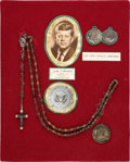 Political:Presidential Relics, John F. Kennedy: Personally-Owned Rosary Beads....