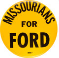 Political:Pinback Buttons (1896-present), Gerald Ford: Number One Slogan Pin....