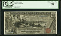 Large Size:Silver Certificates, Fr. 224 $1 1896 Silver Certificate PCGS Choice About New 58.. ...