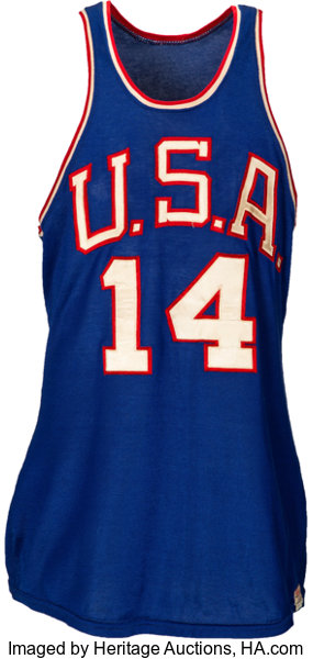 386db90d8133 1960 Oscar Robertson Rome Summer Olympics Game Worn USA