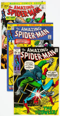 Bronze Age (1970-1979):Superhero, The Amazing Spider-Man Group of 4 (Marvel, 1971-92) Condition: Average VF+.... (Total: 4 Comic Books)