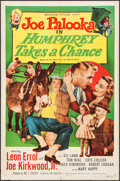 "Movie Posters:Comedy, Joe Palooka in Humphrey Takes a Chance (Monogram, 1950). One Sheet (27"" X 41""), Lobby Card Set of 8, Title Lobby Card, & Lob... (Total: 15 Items)"