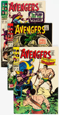 Silver Age (1956-1969):Superhero, The Avengers #40-49 Group (Marvel, 1965-66) Condition: Average FN+.... (Total: 10 Comic Books)