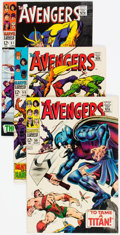 Silver Age (1956-1969):Superhero, The Avengers Group of 9 (Marvel, 1968-69) Condition: FN+.... (Total: 9 Comic Books)