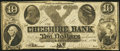 Obsoletes By State:New Hampshire, Keene, NH- Cheshire Bank $10 Dec. 6, 1846 Contemporary Counterfeit. ...