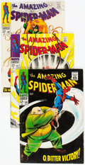 Silver Age (1956-1969):Superhero, The Amazing Spider-Man #60-69 Group (Marvel, 1968-69) Condition: Average VG/FN.... (Total: 10 Comic Books)