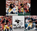 Autographs:Photos, Michigan Wolverines Football Signed Photograph Collection (10)....