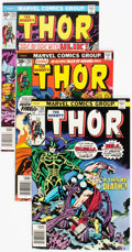 Bronze Age (1970-1979):Superhero, Thor Group of 52 (Marvel, 1976-81) Condition: Average NM-.... (Total: 52 Comic Books)