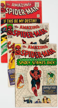 Silver Age (1956-1969):Superhero, The Amazing Spider-Man #19, 21, and 31 Group (Marvel, 1964-65) Condition: Average VG/FN.... (Total: 3 Comic Books)