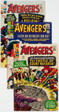 Silver Age (1956-1969):Superhero, The Avengers Group of 7 (Marvel, 1965) Condition: Average FN/VF.... (Total: 7 Comic Books)