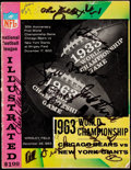 Autographs:Baseballs, Offered is an intact twenty-eight page program from the 1963 ...
