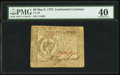 Continental Currency May 9, 1776 $8 PMG Extremely Fine 40