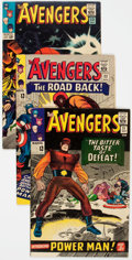 Silver Age (1956-1969):Superhero, The Avengers Group of 6 (Marvel, 1965-66) Condition: Average VF.... (Total: 6 Comic Books)