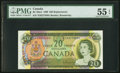 Canadian Currency, BC-50aA $20 1969 *EH Replacement. ...