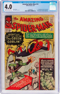 Silver Age (1956-1969):Superhero, The Amazing Spider-Man #14 (Marvel, 1964) CGC VG 4.0 Cream to off-white pages....