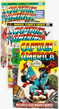 Bronze Age (1970-1979):Superhero, Captain America Group of 32 (Marvel, 1970-80) Condition: Average NM-.... (Total: 32 Comic Books)