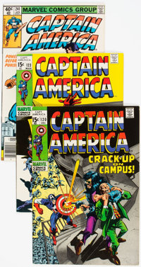 Captain America Group of 46 (Marvel, 1969-80) Condition: Average VF.... (Total: 46 Comic Books)
