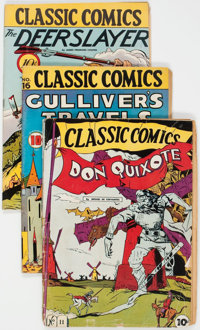 Classics Illustrated First Editions Group of 9 (Gilberton, 1943-47) Condition: Average GD/VG.... (Total: 9 Comic Books)