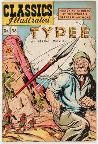Classics Illustrated #36 Typee - First Edition (Gilberton, 1947) Condition: VF