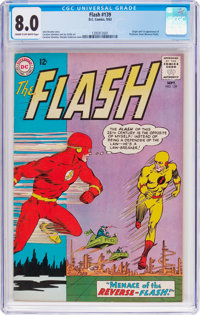 The Flash #139 (DC, 1963) CGC VF 8.0 Cream to off-white pages
